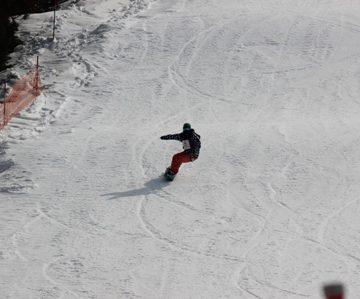 下越スノーボード技術選手権大会の様子2