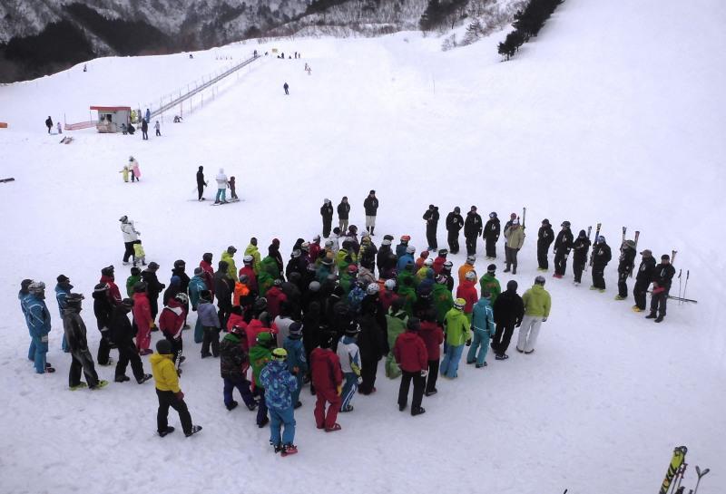 スキー指導実技研修会